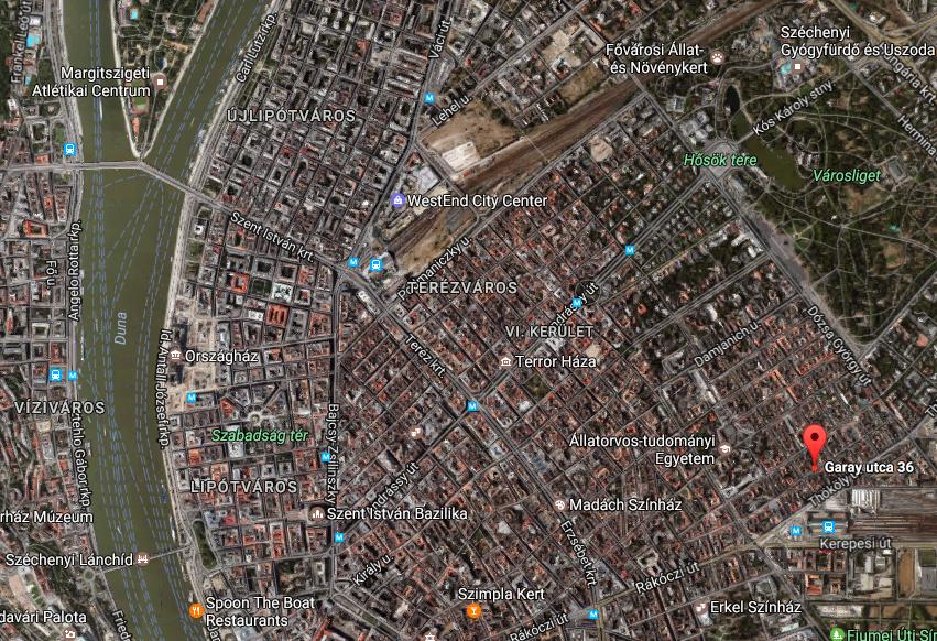 Eladó fejlesztési telek Budapest VII. Garay utca 36.