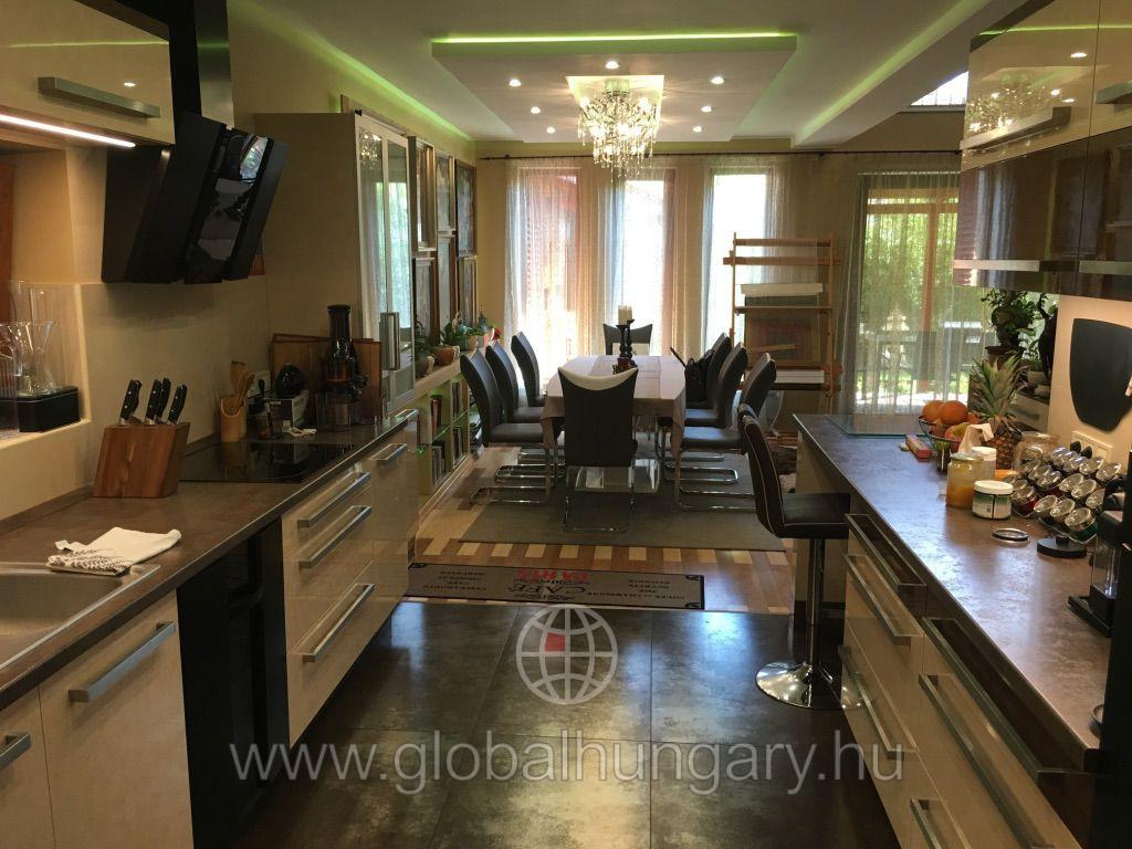 Dunakeszi legkedveltebb részén exkluzív családi ház eladó