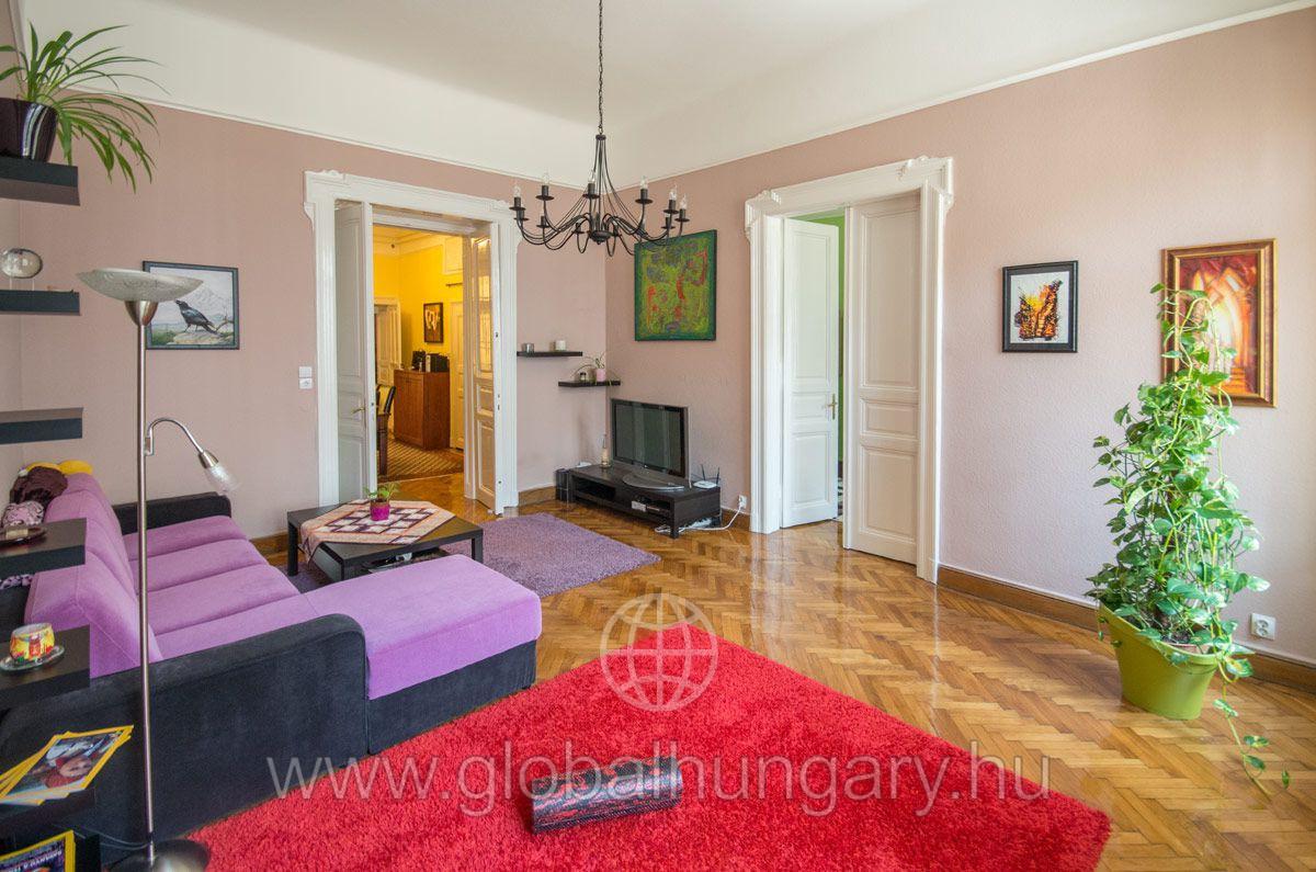 Budapest Ferenc körúton gyönyörű 92 nm-es lakás eladó!