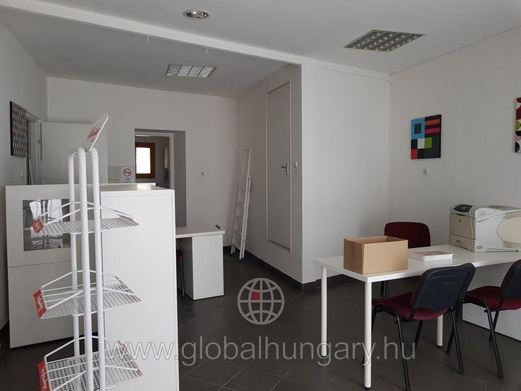 Pécs  sörgyárnál 54m2 -es üzlet lakással eladó