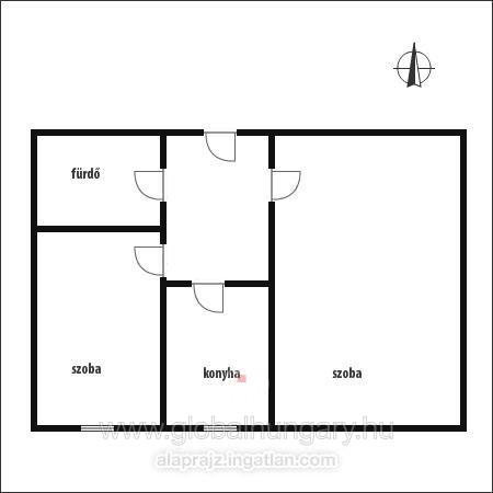 Pécs kertvárosi 1,5 szobás lakás eladó