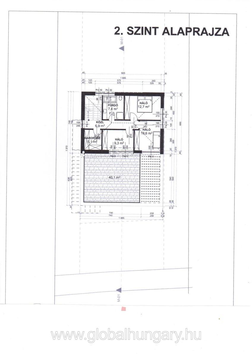 Pécs Csoronikán új építésű családi ház eladó