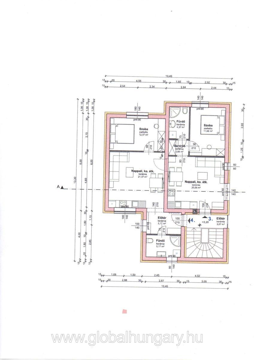 Pécsett az egyetemnél új építésű lakás
