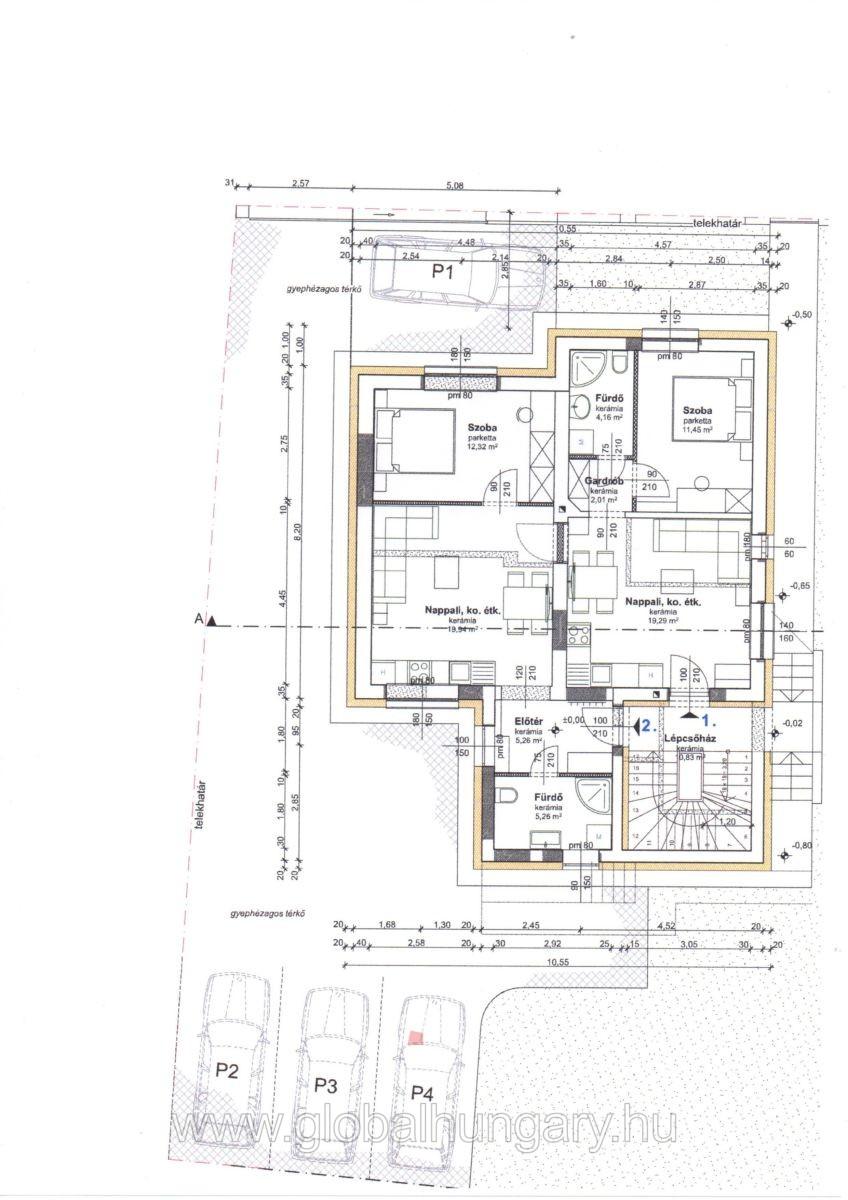 Pécs Móré Fülöp utcában új építésű lakás
