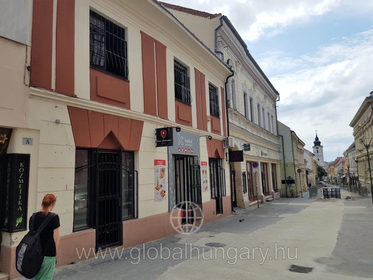 Pécs történelmi belvárosban 750 nm-es ház eladó