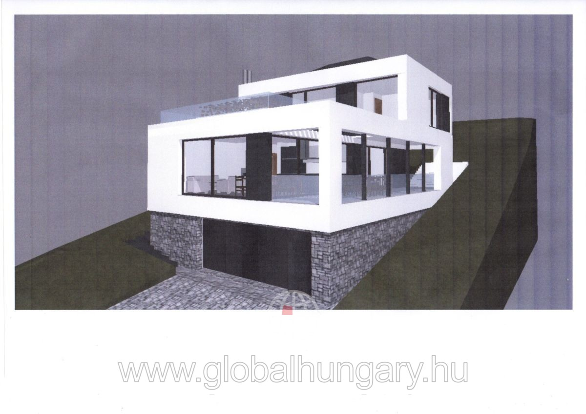 Újonnan épülő pazar panorámás családi ház Csornikán