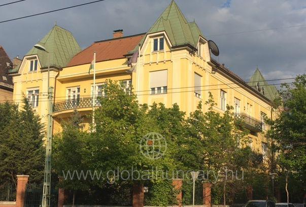Budapest Városligetnél 2300 nm villaépület!