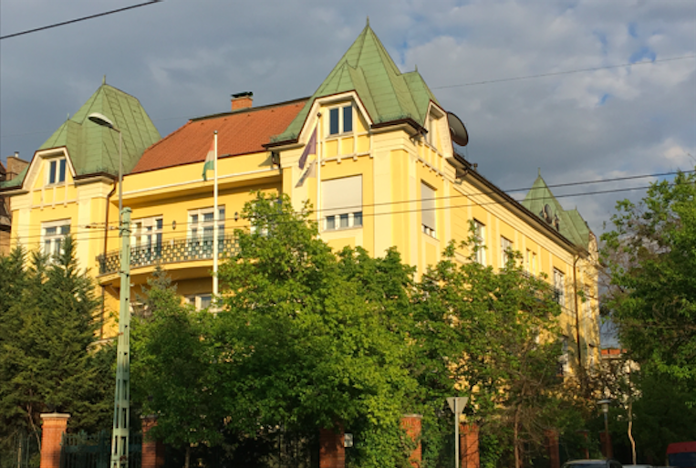Budapest Városligetnél 2300 nm villaépület